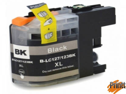 Immagine di CARTUCCIA INK COMPATIBILE PER BROTHER LC127BK NERO
