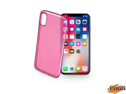 Immagine di Custodia Back color case IPHONE X rosa