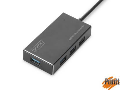 Immagine di HUB 4 PORTE USB 3.0 CON ALIMENTATORE