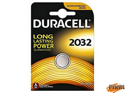 Immagine di Batterie 3 Volt CR2032 DURACELL
