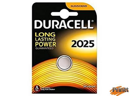 Immagine di Batterie 3 Volt CR2025 DURACELL