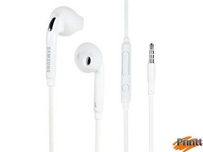 Immagine di Auricolare Samsung stereo 3,5mm white