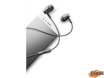 Immagine di Auricolare mic. stereo in-ear nero Cellularline
