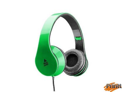 Immagine di Cuffie no mic. music sound verde Cellularline