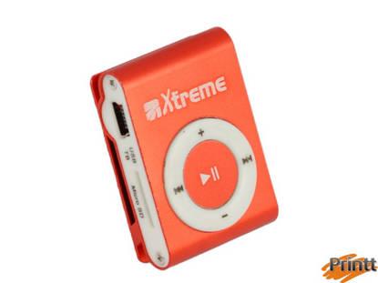 Immagine di LETTORE MP3 XTREME CON MICRO DA 4GB RED