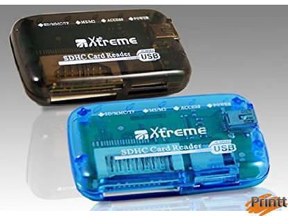 Immagine di CARD READER CR615 USB 2.0 SD/MMC/MS XTREME