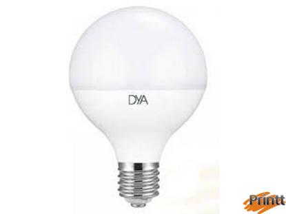 Immagine di Lampadina DYA Globo 20W, E27, Luce calda 3000K