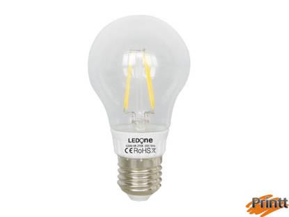 Immagine di Lampadina filamento 7W, E27, Luce calda 2700K