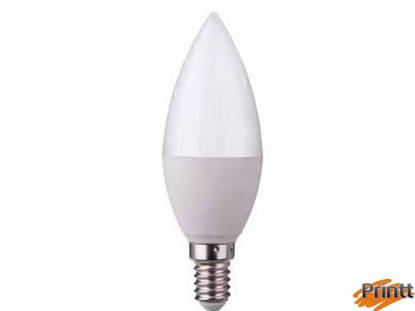 Immagine di Lampadina Dya 6W, E14, candela Luce calda 3000K