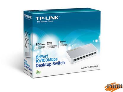 Immagine di Switch Tp-Link TL-SF1008D 8P Lan desktop 10/100m RK45