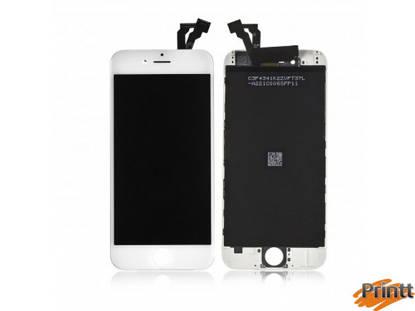 Immagine di Vetro + Display Iphone 6 Bianco PREMIUM