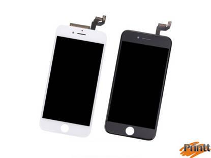 Immagine di Vetro + Display Iphone 6S Bianco PREMIUM