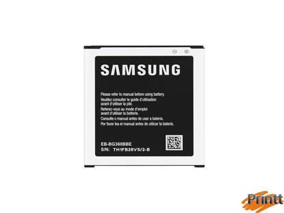 Immagine di Batteria Samsung Galaxy Core Prime  (2000 mAh) EB-BG360BBE