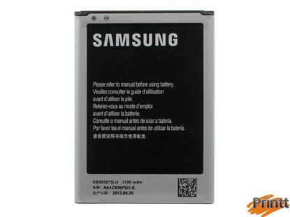 Immagine di Batteria Samsung Galaxy Note 2 (3100  mAh) EB-595675LU