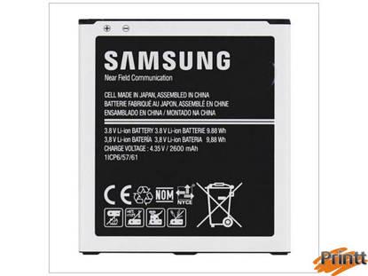 Immagine di Batteria Samsung Galaxy Grand Prime/g530/j5/j32016  (2600 mAh) EB-BG530CBE