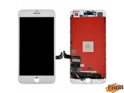 Immagine di Vetro + Display Iphone 7 Bianco PREMIUM