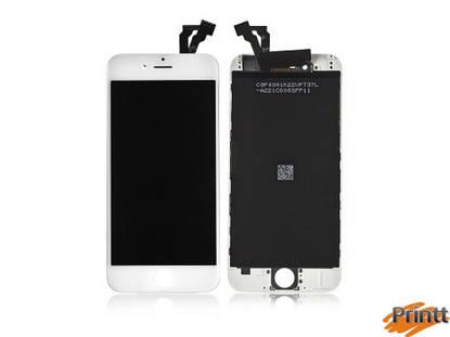 Immagine di Vetro + Display Iphone 6 PLUS Bianco PREMIUM
