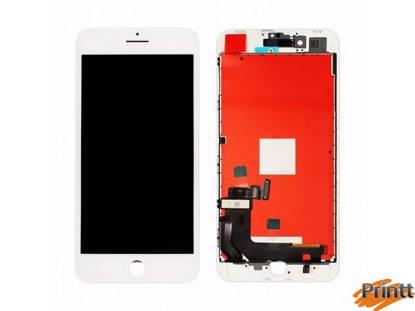 Immagine di Vetro + Display Iphone 8 plus bianco PREMIUM