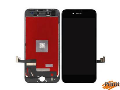 Immagine di Vetro + Display Iphone 8 plus Nero PREMIUM