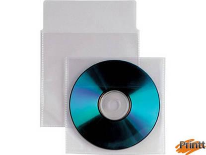 Immagine di Bustine trasparenti per CD/DVD/BLU-RAY conf. 100pz