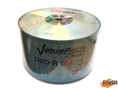 Immagine di DVD-R Traxdata 16X camp. 50pz