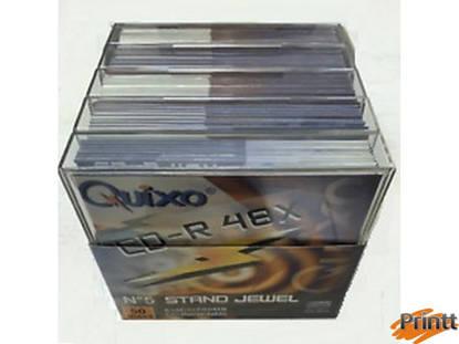 Immagine di CD-R Quixo 48X camp. 10pz