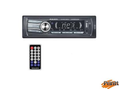Immagine di AUTORADIO Majestic RDS FM- USB/AUX/BT SA-400 NO RADIO