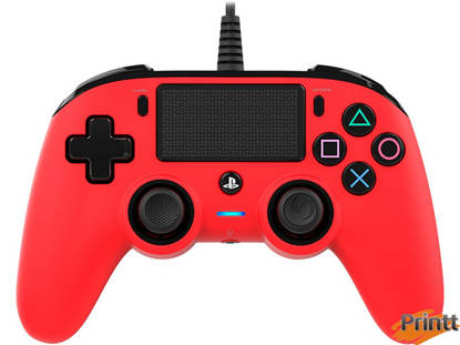 Immagine di NACON JOYPAD WIRED PS4 RED