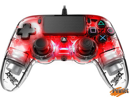 Immagine di NACON JOYPAD WIRED TRASPARENTE PS4 RED