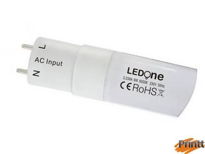 Immagine di Tubo LedOne 9W, T8, 60 cm,  Luce fredda 6500K