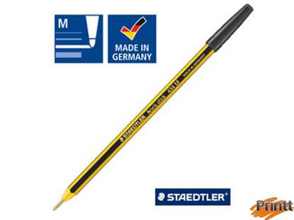 Immagine di Scatola 20 penna a sfera 434 Noris Stick blu 1,0mm STAEDTLER