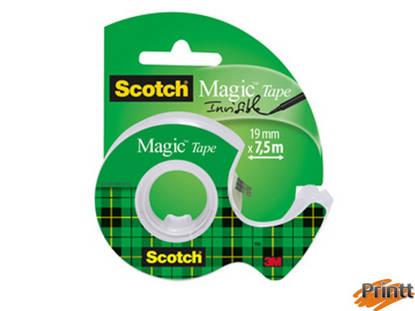 Immagine di SCOTCH MAGIC 810 IN CHIOCCIOLA 19MMX7,5M