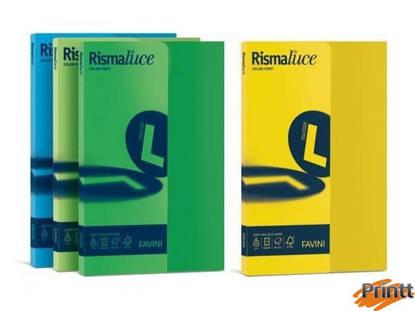 Immagine di Carta RISMALUCE SMALL A4 200gr 50fg nero 63 FAVINI