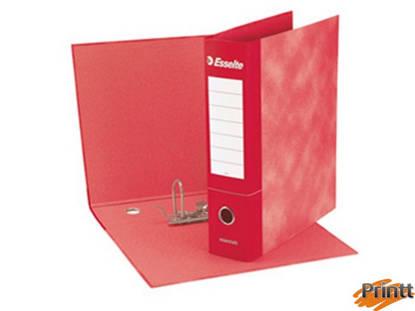 Immagine di Registratore ESSENTIAL G73 rosso dorso 8cm f.to commerciale ESSELTE