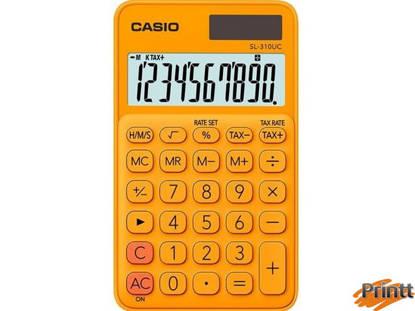 Immagine di Calcolatrice tascabile SL-310UC arancio CASIO
