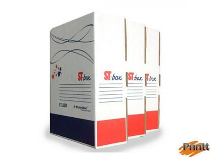 Immagine di Scatola archivio ST-BOX A4 245x325mm Dorso 10cm STARLINE