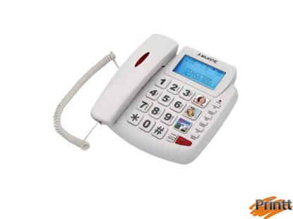 Immagine di TELEFONO FISSO MAJESTIC CON DISPLAY PHF-BILLY-200 BIANCO