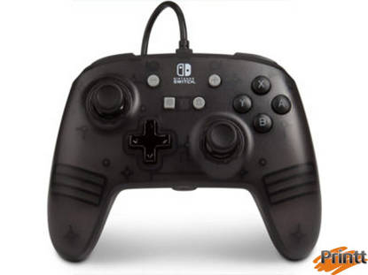 Immagine di CONTROLLER POWER A- WIRED NINTENDO SWITCH - BLACK FROST