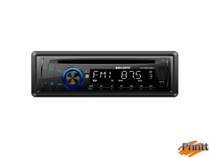 Immagine di AUTORADIO Majestic MP3/USB/AUX/CD SCD-635
