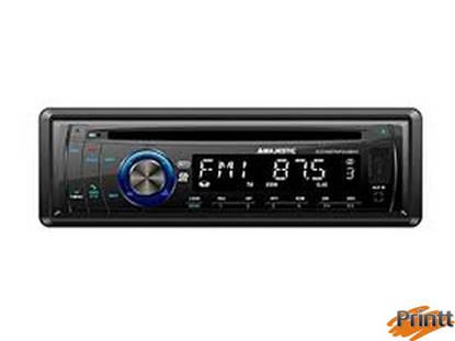 Immagine di AUTORADIO Majestic MP3/USB/AUX/CD/BT SCD-645
