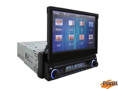"""Immagine di AUTORADIO Majestic CON MONITOR 7"""" MP3/USB/AUX/BT SV-493N"""