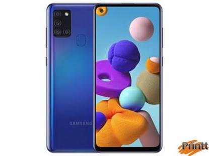 Immagine di Cell. Samsung A21s Blu