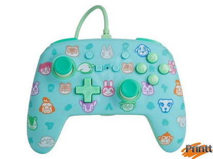Immagine di CONTROLLER POWER A- WIRED NINTENDO SWITCH - ANIMAL CROSSING NEW H